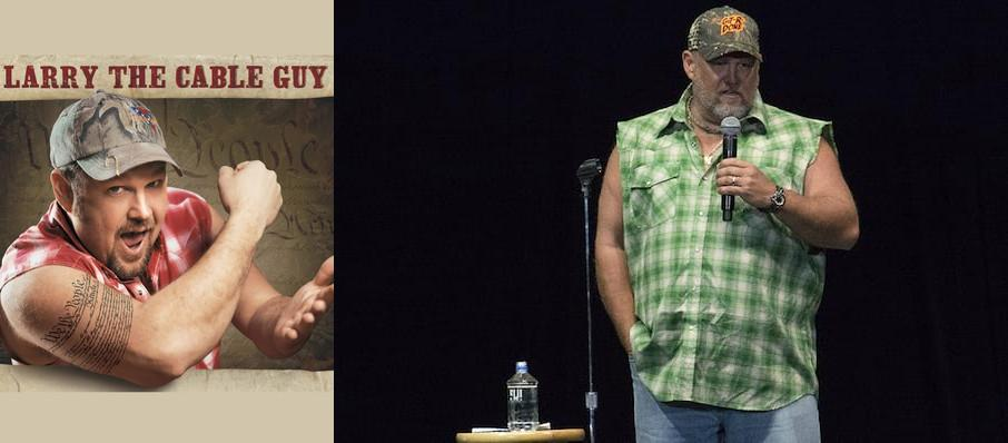 Larry The Cable Guy at Peoria Civic Center Theatre