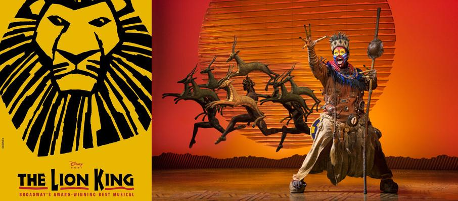 The Lion King at Peoria Civic Center Theatre