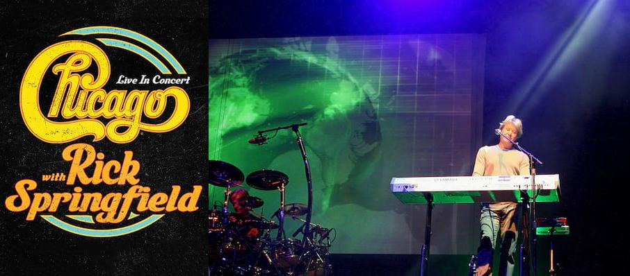 Chicago - The Band at Peoria Civic Center Theatre