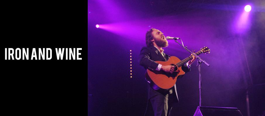 Iron and Wine at The Castle Theatre