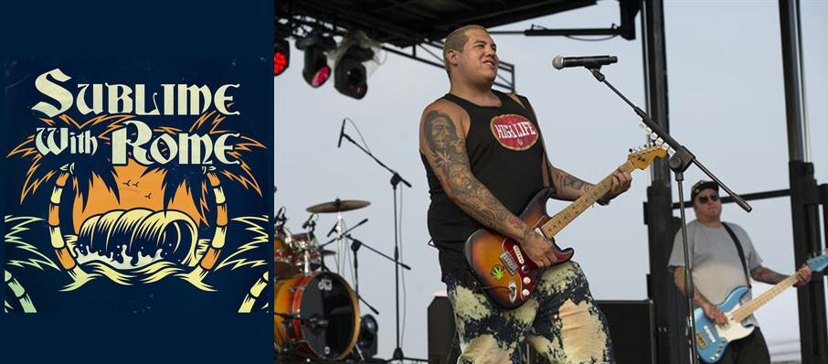 Sublime with Rome at Grossinger Motors Arena