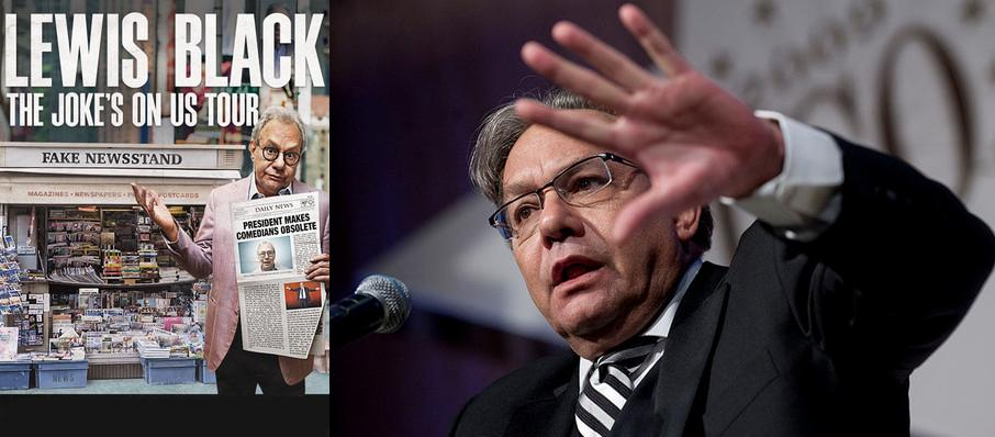 Lewis Black at Peoria Civic Center Theatre