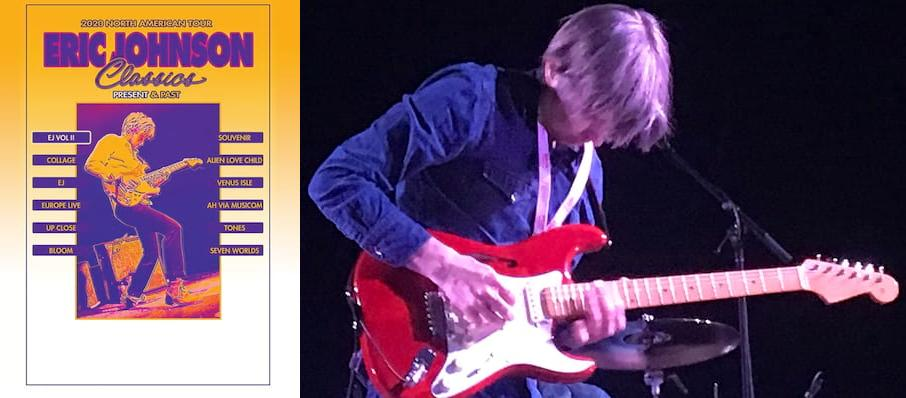 Eric Johnson at The Castle Theatre