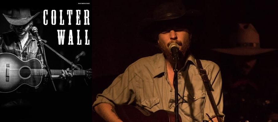 Colter Wall at Monarch Music Hall