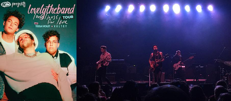 lovelytheband at Monarch Music Hall