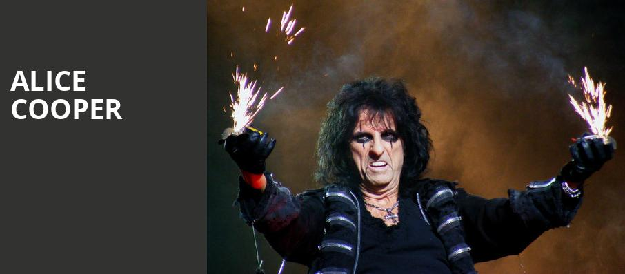 Alice Cooper, Peoria Civic Center Theatre, Peoria