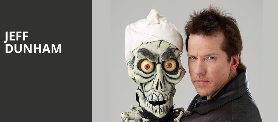 Jeff Dunham, Peoria Civic Center Arena, Peoria