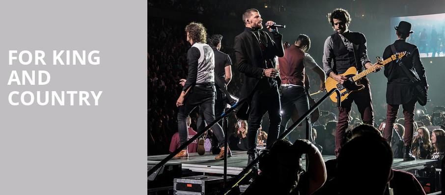 For King And Country, Peoria Civic Center Arena, Peoria