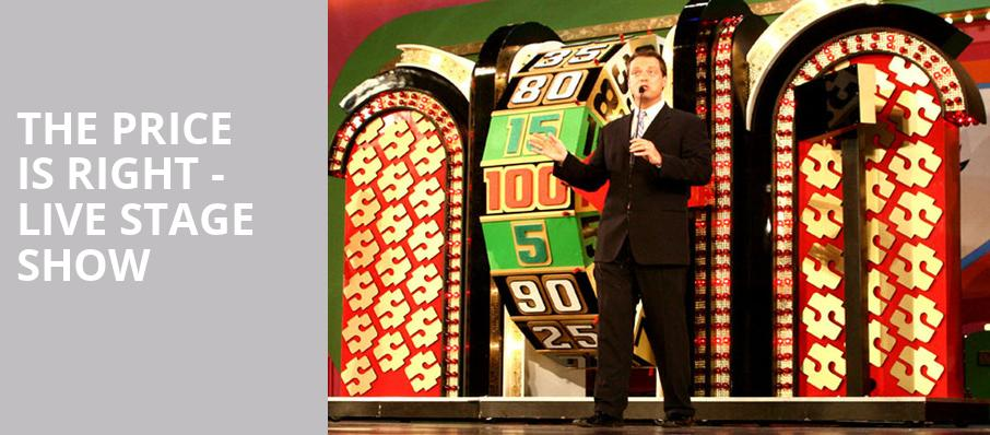 The Price Is Right Live Stage Show, Peoria Civic Center Theatre, Peoria